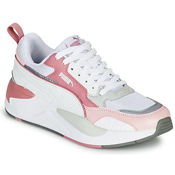 Schoenen Dames Lage sneakers Puma X-RAY 2 Wit / Roze