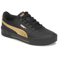 Schoenen Dames Lage sneakers Puma CARINA Zwart / Goud