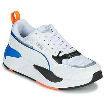 Schoenen Kinderen Lage sneakers Puma X-RAY Wit / Blauw / Zwart