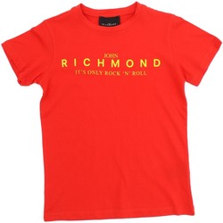 Textiel Kinderen T-shirts korte mouwen Richmond Kids RBP20069TS Red