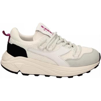 Schoenen Lage sneakers Diadora RAVE HIKING c0351-bianco-nero
