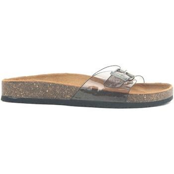 Schoenen Dames Leren slippers Chattawak Mule 9-OPALINE T.GRIS VERNIS Grijs