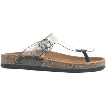 Schoenen Dames Leren slippers Chattawak Sandales Zelda T Noir Zwart