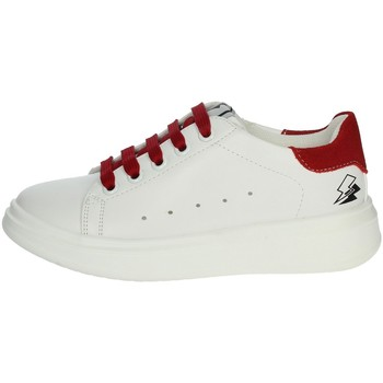Schoenen Kinderen Lage sneakers Asso AG-5415 White/Red