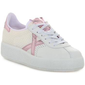 Schoenen Dames Lage sneakers Munich 037 BARRU SKY Bianco