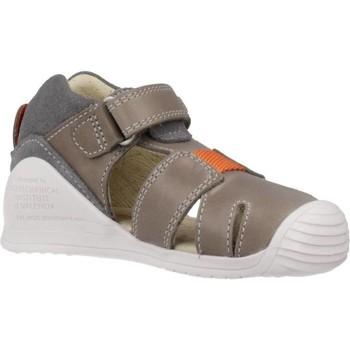 Schoenen Jongens Sandalen / Open schoenen Biomecanics 202141 Grijs
