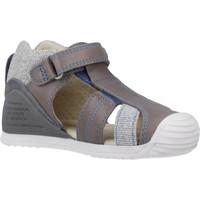 Schoenen Jongens Sandalen / Open schoenen Biomecanics 202146 Grijs