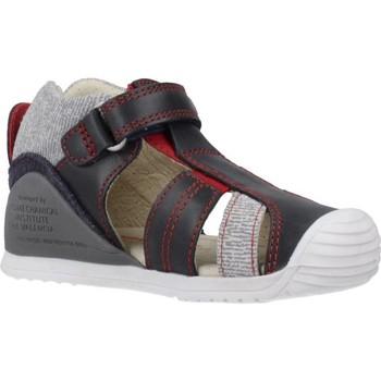 Schoenen Jongens Sandalen / Open schoenen Biomecanics 202146 Blauw