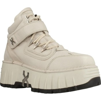Schoenen Dames Enkellaarzen Bronx BRONX BM0ON-WALKK Beige