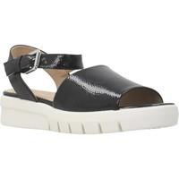 Schoenen Dames Sandalen / Open schoenen Geox D WIMBLEY SAND A Zwart