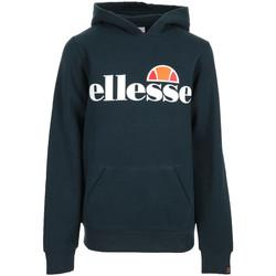 Textiel Jongens Sweaters / Sweatshirts Ellesse Jero Hoody Jr Blauw