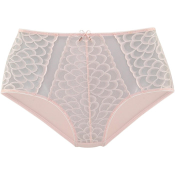 Ondergoed Dames Slips Lascana Hoge taille slip Camilla roze Lichtroze