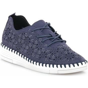Schoenen Dames Lage sneakers Grunland BLU F6VIVY Blu