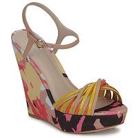 Schoenen Dames Sandalen / Open schoenen Bourne KARMEL Beige / Multi