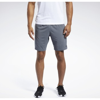 Textiel Heren Korte broeken / Bermuda's Reebok Sport Workout Ready Short grey