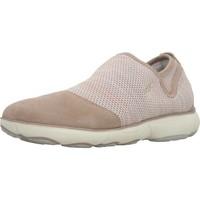 Schoenen Dames Sneakers Geox D NEBULA B Roze