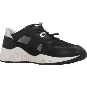 Schoenen Dames Lage sneakers Geox D OMAYA F Zwart