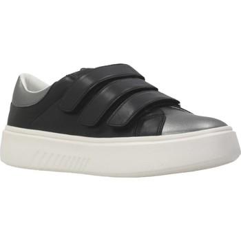 Schoenen Dames Lage sneakers Geox D NHENBUS C Zwart
