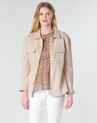 Textiel Dames Jasjes / Blazers Betty London MOUCHE Beige