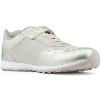 Schoenen Meisjes Lage sneakers Geox JOCKER PLUS MEISJE schoenen BEIGE