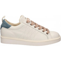 Schoenen Dames Lage sneakers Panchic LOW CUT LEATHER FULL GRAIN white-niagara-quartz