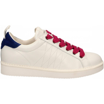 Schoenen Dames Lage sneakers Panchic LOW CUT LEATHER FULL GRAIN white-l-fuxia