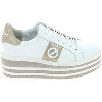 Schoenen Dames Lage sneakers No Name Boost Blanc Or Wit