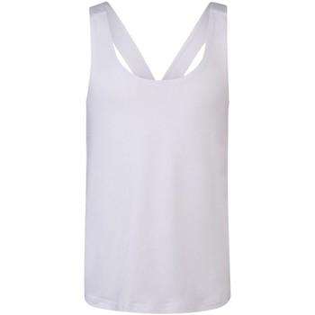 Textiel Meisjes Mouwloze tops Skinni Fit SM241 Wit
