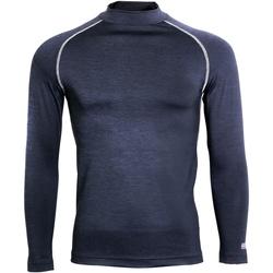 Textiel Heren T-shirts met lange mouwen Rhino RH001 Marine Heide