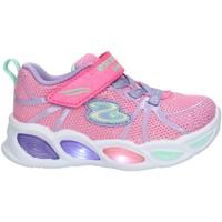 Schoenen Kinderen Lage sneakers Skechers 302042 Pink