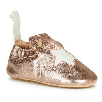 Schoenen Kinderen Sloffen Easy Peasy BLUBLU ETOILE Roze / Goud