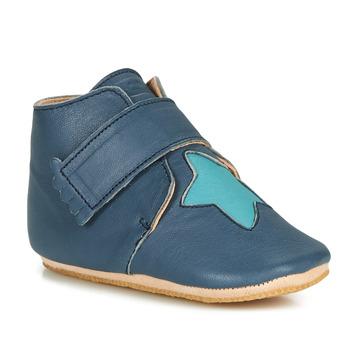 Schoenen Kinderen Sloffen Easy Peasy KINY ETOILE Blauw