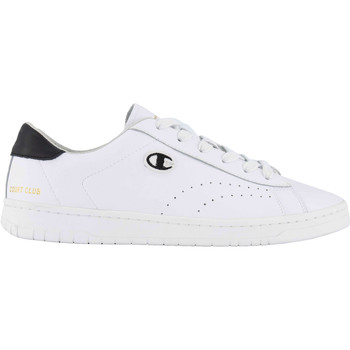 Schoenen Heren Sneakers Champion Court Club Patch Weiss