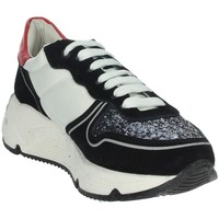 Schoenen Dames Lage sneakers Keys K-1650 Black/White