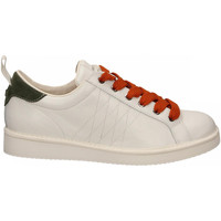 Schoenen Heren Lage sneakers Panchic LOW CUT LEATHER FULL GRAIN white-birch