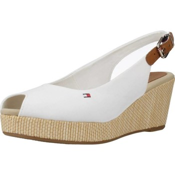 Schoenen Dames Sandalen / Open schoenen Tommy Hilfiger ICONIC ELBA SLING BACK W Wit