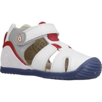 Schoenen Jongens Sandalen / Open schoenen Biomecanics 202149 Wit