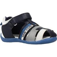 Schoenen Jongens Sandalen / Open schoenen Chicco 1063474 Blauw