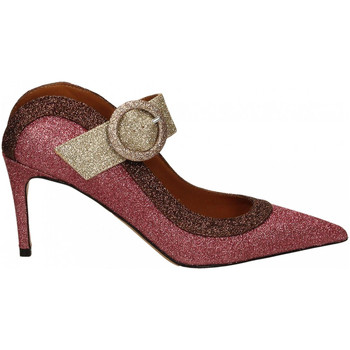 Schoenen Dames pumps Martina T SABOT GLITTER rosso