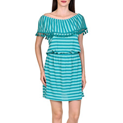 Textiel Dames Korte jurken Lisca Strandjurk Itala Marina Donkergroen