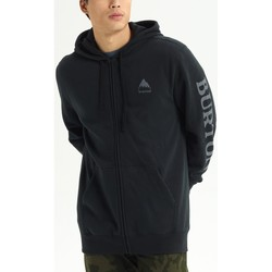 Textiel Heren Sweaters / Sweatshirts Burton Men's Elite Full Zip Hoodie True Black