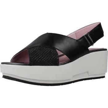 Schoenen Dames Sandalen / Open schoenen Stonefly KETTY 5 NET GLIT/NAP Zwart
