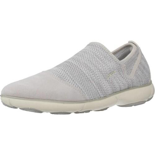 Schoenen Dames Lage sneakers Geox D NEBULA B Grijs