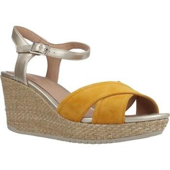 Schoenen Dames Sandalen / Open schoenen Stonefly MARLENE II 5 VEL/LAM Oranje