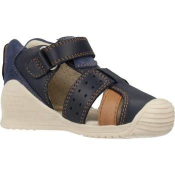Schoenen Jongens Sandalen / Open schoenen Biomecanics 202143 Blauw
