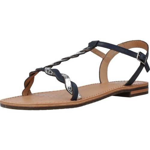 Schoenen Dames Sandalen / Open schoenen Geox D SOZY K Blauw