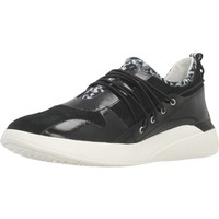 Schoenen Dames Sneakers Geox D THERAGON A Zwart