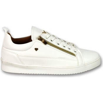 Schoenen Heren Lage sneakers Cash Money Sneaker CMP White Gold-  White Wit