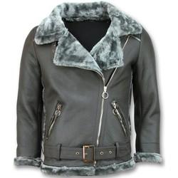 Textiel Dames Leren jas / kunstleren jas Z Design Imitatie Lammy Coat 35