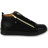 Schoenen Heren Lage sneakers Cash Money Sneaker Bee Black Gold V2- CMS98 - Zwart